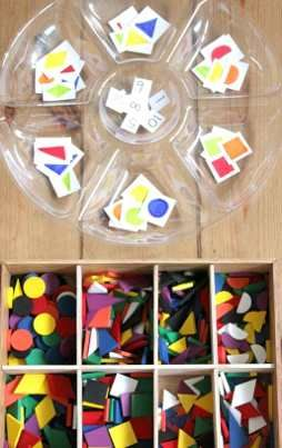 clasificamos formas y colores