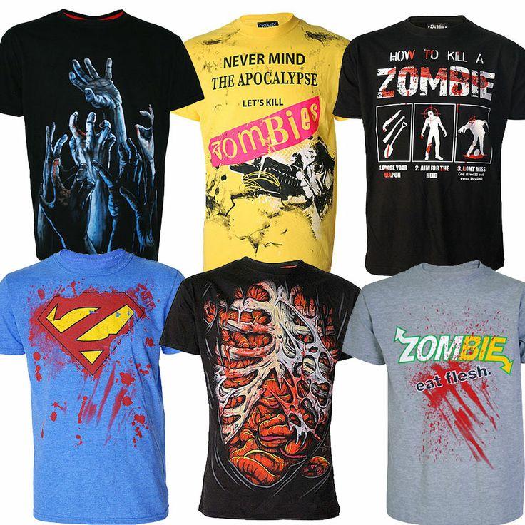 DARKSIDE BRAND ZOMBIE RANGE t-shirt tee top tshirt Goth Punk Rock Gamer Zomgenre