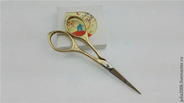 Купить Ножницы швейные оригинальные - золотой, серебряный, ножницы для рукоделия, ножницы маникюрные, для шитья игрушек
