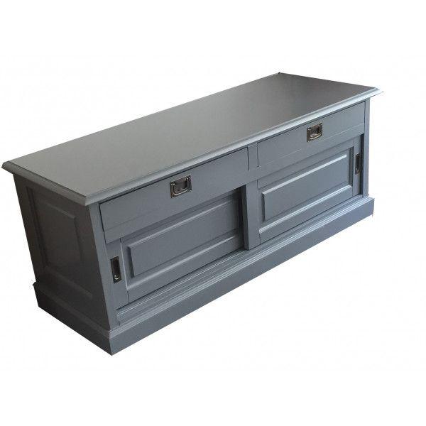 TV dressoir Sneek grijs 125cm