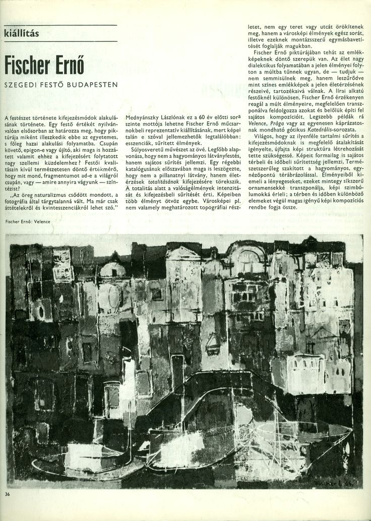 1973-as kiállításról I.