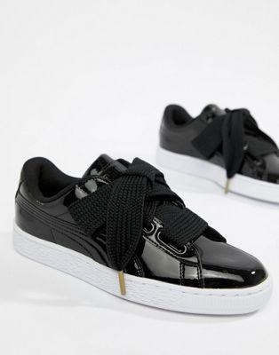 e648ca5dacc008 Puma Basket Heart Patent Sneaker