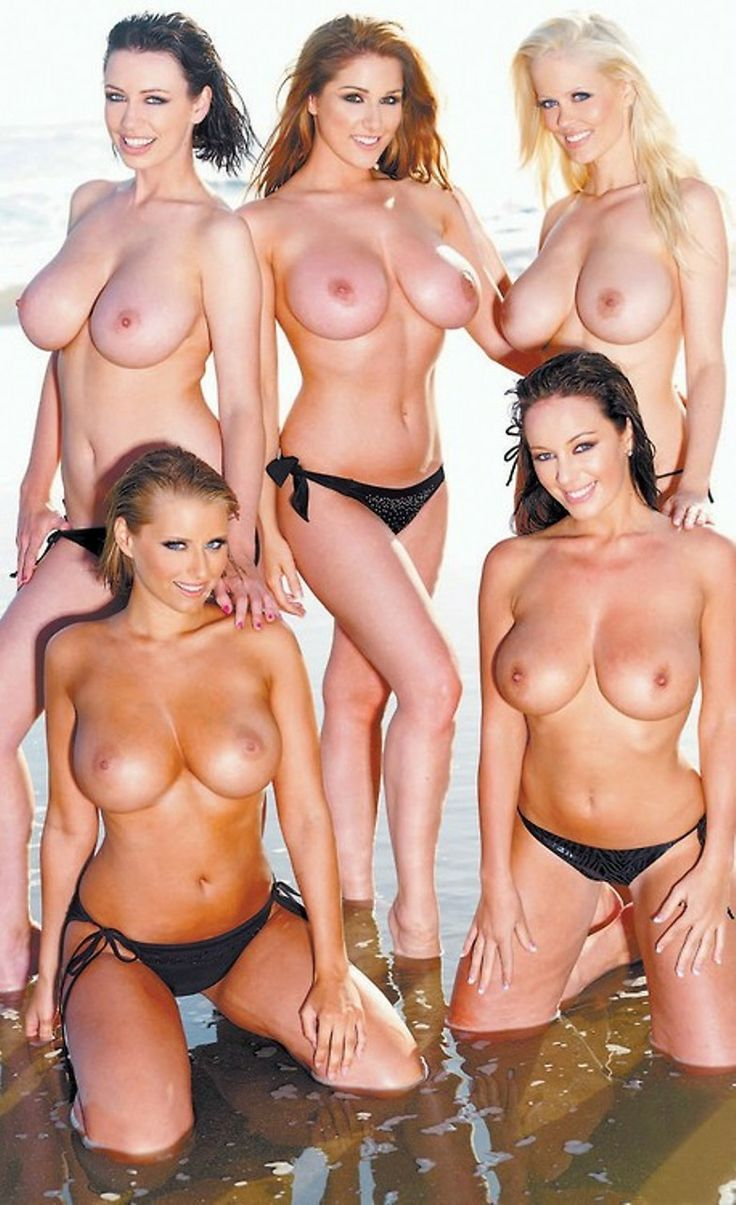 group natural boobs