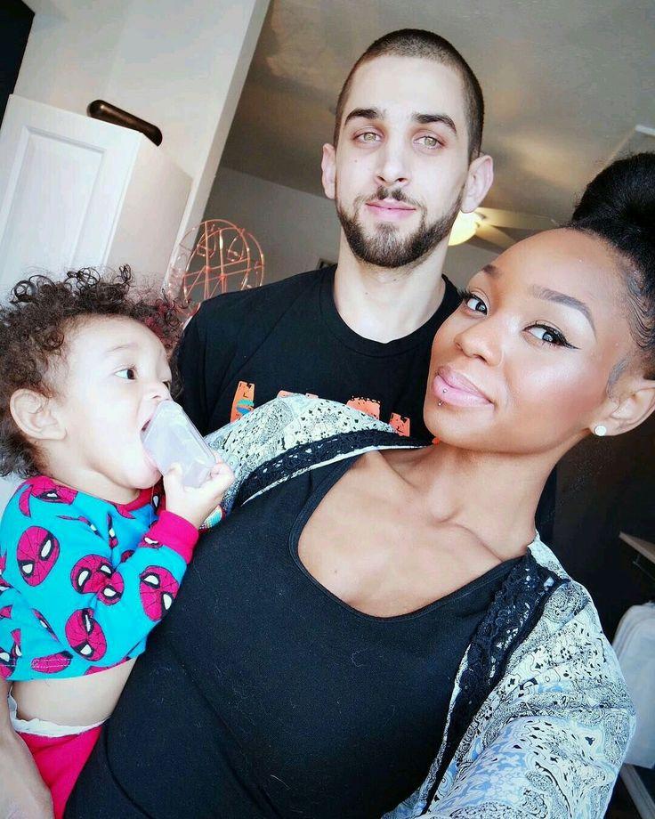 Super cute multiracial family selfie #love #wmbw #bwwm #swirl #lovingday #relationshipgoals