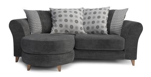 3 Seater Pillow Back Lounger Bonbon | DFS
