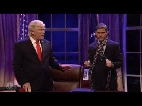 Baldwin's Trump Gets a Visit From the Ghost of Michael Flynn