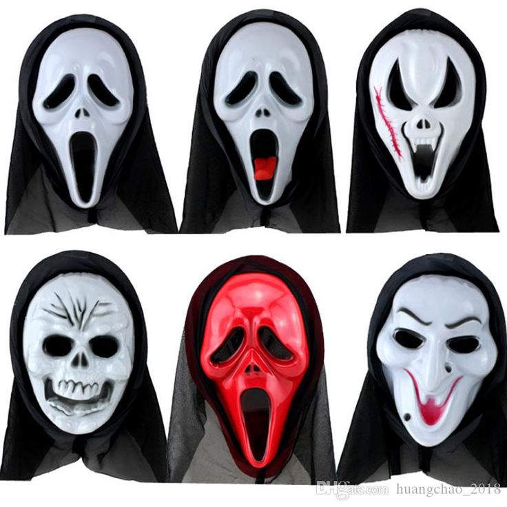 Ghost Skull Face Masquerade Mask Hood Full Face Volto Mask Halloween Horror Halloween Scary Horror Masks For Festival Party Cosplay Masquerade Mask Cheap Masquerade Mask Costume From Huangchao_2018, $1.41| Dhgate.Com
