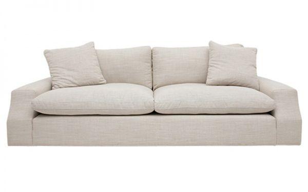 BENJI 3.5 Seater Sofa STD Jute   OZ Design Furniture & Homewares
