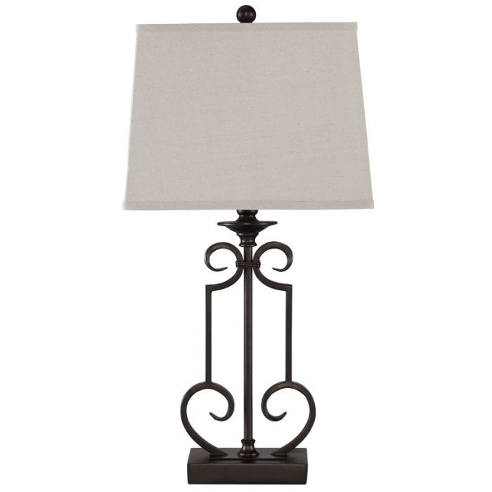 Go Traditional With A Dark Metal Table Lamp Ashley Ainslie Metal Table Lamp Weekends Only Furniture And Mattress Metal Table Lamps Table Lamp Lamp
