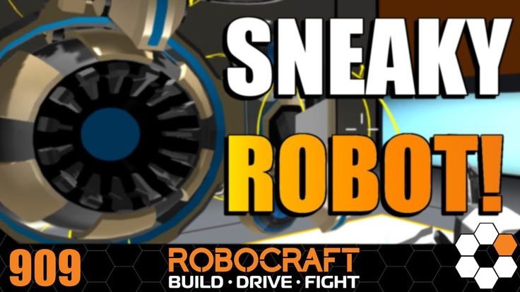 Robocraft  'Sneaky Bot' Build and Gameplay