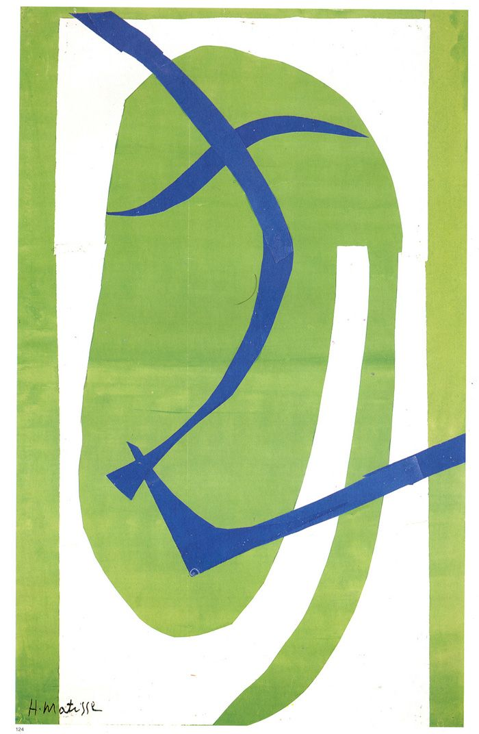 theblacksquare:  Japanese Mask, 1950   Henri Matisse