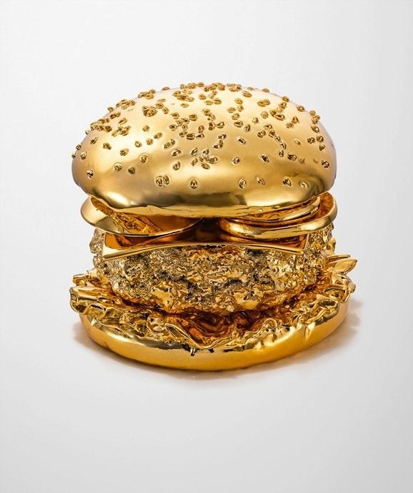 """Golden Burger - My thought when I saw this was """"The Rachel Ray Award"""""""