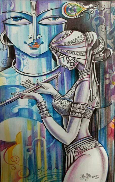 Radha-Krsna - Abstract