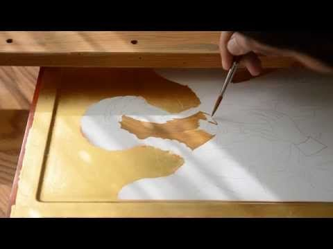 The first of 8 videos on youtube taking you through the creation of this Icon. Long, detailed videos. Published on May 19, 2013 Creating an icon of St. Archangel Michael (Chilandar Monastery) by Rade Pavlovic. Процес израде Хиландарске иконе Светог Архангела Михајла. Иконописац Раде Павловић. http://www.facebook.com/rasaphoto