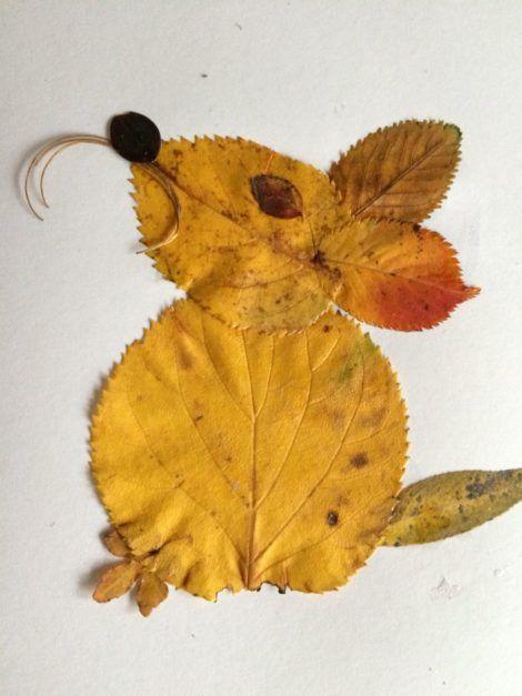 20+ Kreative Blatttierkunst   – przedszkole