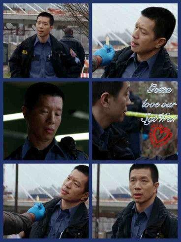 Grimm - Sergeant Wu