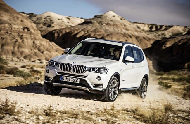 2015 BMW X3 Crossover Front Pictures