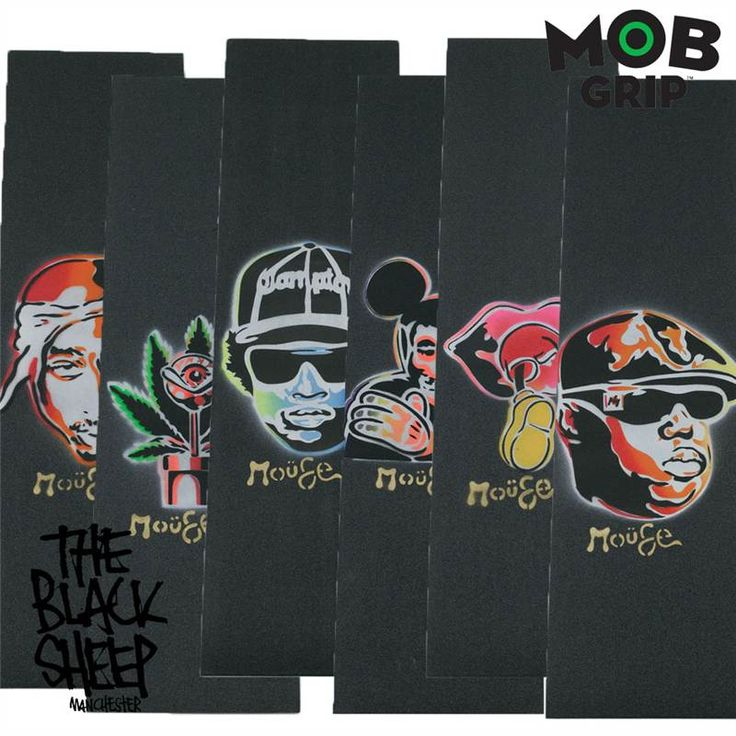 Grip Tape Stencil mouse | MOUSE MOB SPRAY ICONIC GRAPHIC SKATEBOARD GRIP TAPE NEW! | eBay