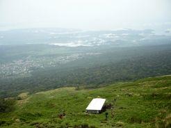 The half way hut, Mt Cameroon