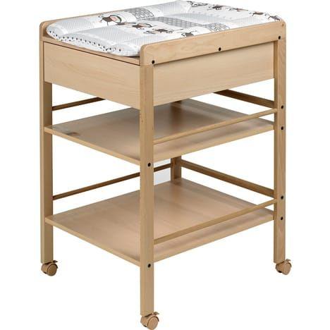 GEUTHER Table a langer avec tiroir avant Naturelle Lotta