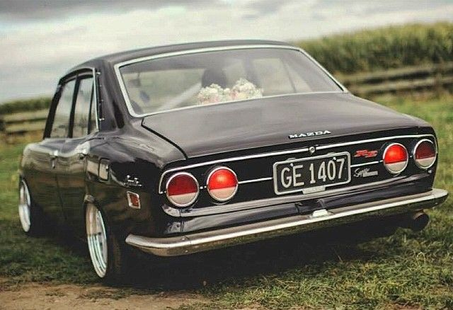 Mazda Capella RX-2 | Lowered, JDM, Stance
