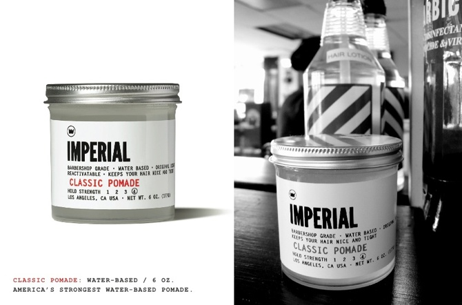 Imperial Barber Shop Products.   http://store.number-a.com/index.php?family=Imperial