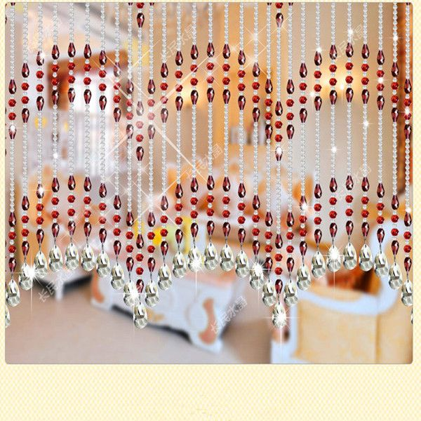 127 best beaded curtains images on pinterest beaded curtains bead curtains and crystals - Glass beaded door curtains ...