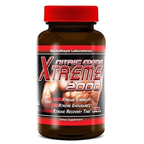Maritzmayer Lab Nitric Oxide Xtreme Muscle Growth Supplement 90 Capsules Per Bottle (1 Bottle)