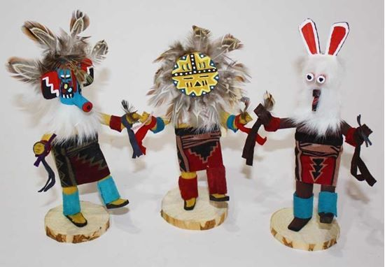 """Navajo Kachina Doll 7""""h - American Indian Dolls For Sale $22.50 @ Foutztrade.com #NativeAmericanArts  Authentic Native american Design Doll  #NavajoCulture #NativeAmerican #KachinaDolls #Handmade #IndianArts #VintageArts #Authentic #NativeAmericanDesign #SouthwesternArts #Navajomade #Arts #Crafts"""