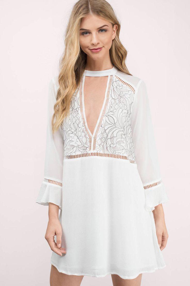 17 best ideas about White Shift Dresses on Pinterest | White ...