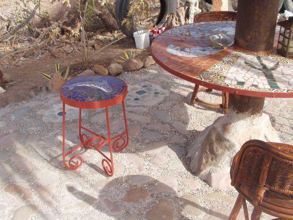 Palyapa table & stool 2