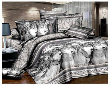 Gray Wolf Bedding Set Bedrooms Pinterest Gray Wolf