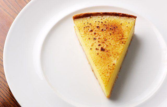 Lemon tart by Dominic Chapman