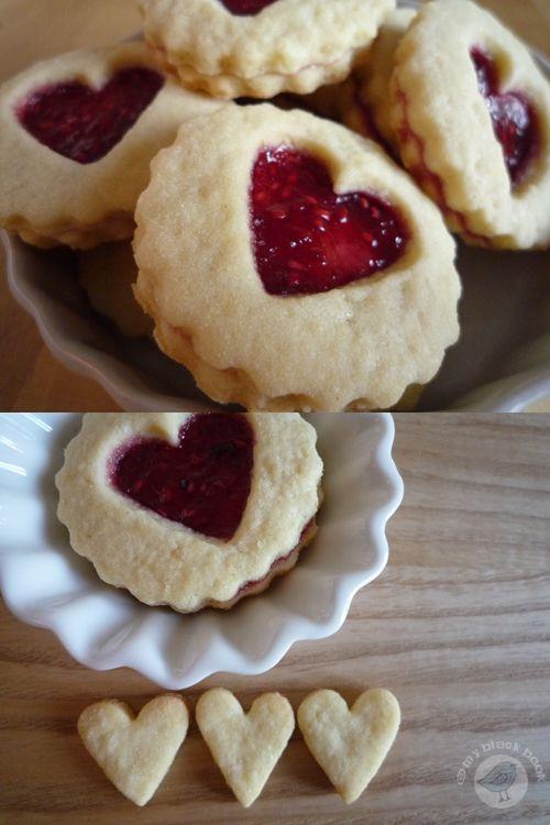 Valentine Sweets, Shortbread Cookies, Sandwich Cookies, Norsk Cookies ...