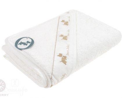 Купить полотенце детское СОБАЧКИ с капюшоном 100х100 от производителя Bovi (Португалия)
