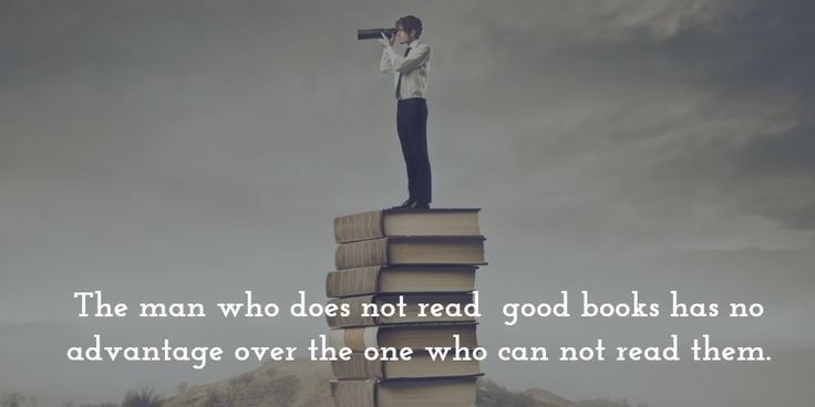 The man who does not read  good books has no advantage over the one who can not read them. http://ift.tt/1NIJP2k