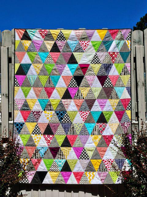 bijou lovely: technicolor triangles.