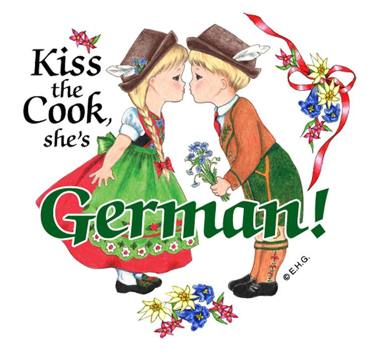 Magnetic Tile: German Cook