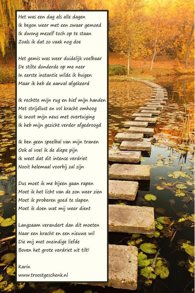 Een dag als alle dagen  www.troostgeschenk.nl