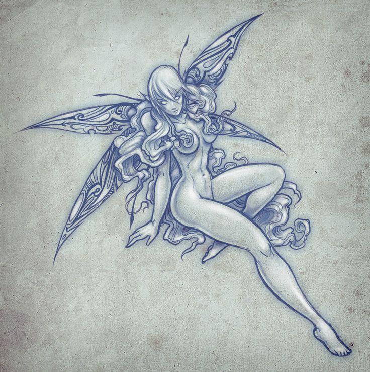 поверхность тату картинки с эльфами почти
