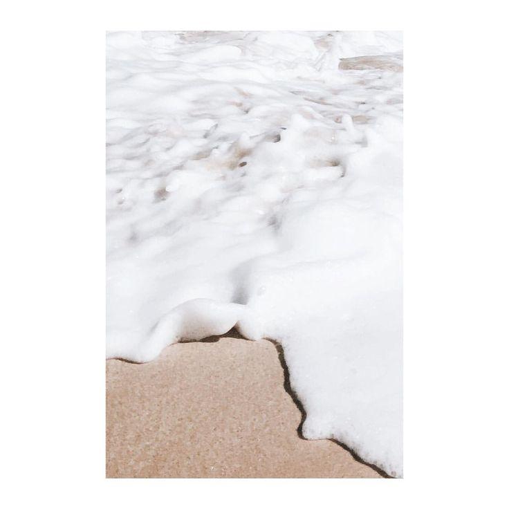 #beach #foam #minimal #minimalism #photography #isabelpettinato #texture #ocean #water