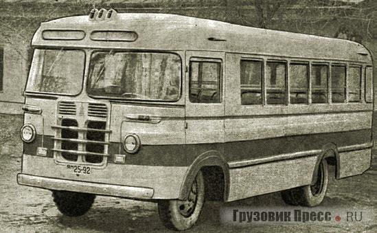 Автобус на шасси УРАЛЗИС-355М Алма-Атинского АРЗ. 1960 г.