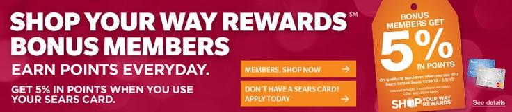 Kmart, Sears Rewards