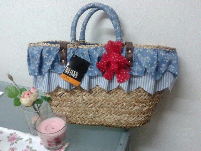 Capazo cesto serillo cestas de mimbre pinterest - Cestas de mimbre para bebes ...