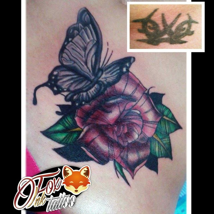#FoxInkTattoo #Cover #CoverTattoo #Butterfly #ButterflyTattoo #Rose #RoseTattoo #ButterflyAndRose #ButterflyAndRoseTattoo #Neotradicional #NeotradicionalTattoo #Mariposa #Rosa #MariposayRosa #MariposayRosaTattoo #RosaTattoo #MariposaTattoo #Cubrimiento #CubrimientoTattoo #Neotrad