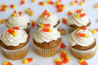 Quick and Easy Pumpkin Cupcakes.   made this, but used a yellow cake mix, then added two tsp pumpkin pie seasoning and 1.5 tsp cinnamon and baked it in a bundt pan. It turned out delicious and so moist!