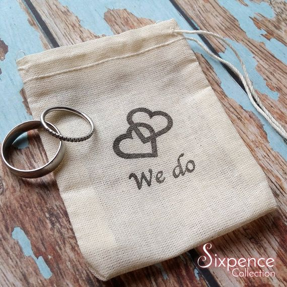 We do Double Hearts ring bag. Ring pillow alternative ring