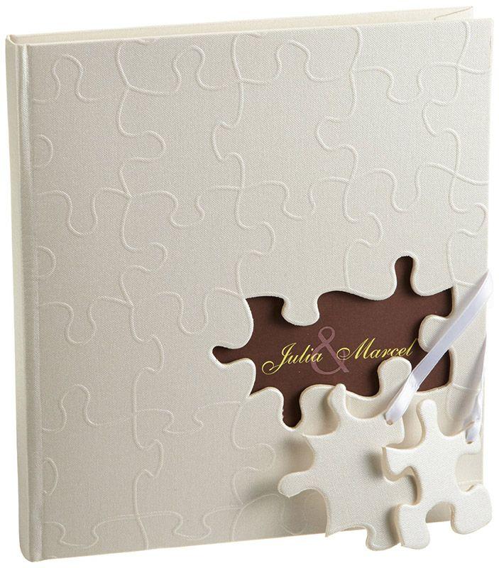 Ihr persönliches Hochzeitsgästebuch hier kaufen ♥ individuell gestaltbar für tolle Erinnerungen