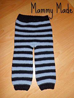 *Free Crochet Pattern:  Mammy Made: Mammy Made Crochet Longies - Small
