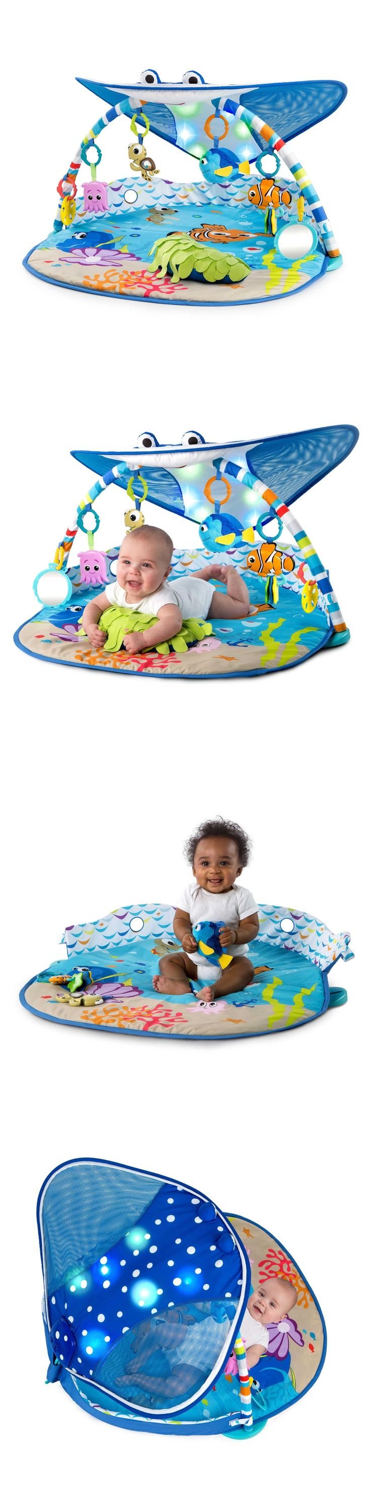 Baby Gyms and Play Mats 19069: Disney Baby Mr. Ray Ocean Lights Music Toys Activity Gym Play Mat Tummy Time -> BUY IT NOW ONLY: $113.99 on eBay!